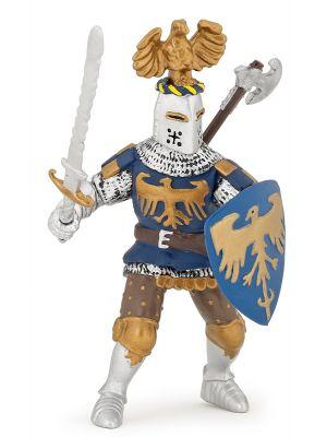 Papo History  Blauwe Ridder met Adelaars Helm 39362