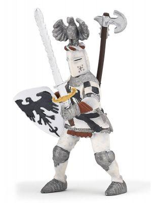 Papo History Witte Ridder met Adelaarshelm 39785