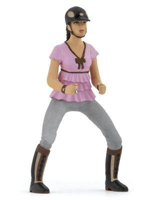 Papo cheval Cavalière fashion rose 52006