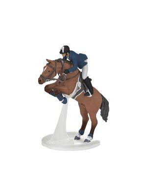 Papo Horses Springpaard met zijn Ruiter 51562