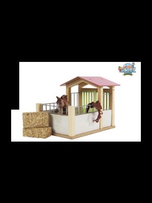 Kids Globe box à chevaux rose (sans accessoires)e 610206