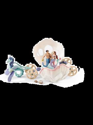 Schleich 41460 Bayala Carrosse-coquillage royal