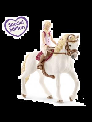 Schleich 42412 Horse Club fille 2 & Andalusische jument