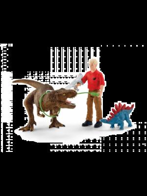 Schleich Dinosaurus 41465 Attaque Tyrannosaure Rex