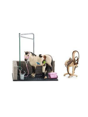 Schleich 42104 Box de lavage pour chevaux