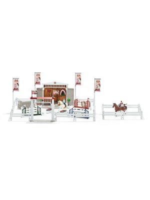 Schleich 42338 Grand concours hippique avec cavalières et chevaux