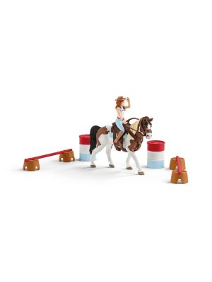 Schleich Horse Club 42441 Ensemble d'équitation western Hannahs