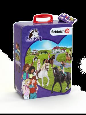 Schleich chevaux Horse Club Mallette pour collection Peut accueillir 10 chevaux