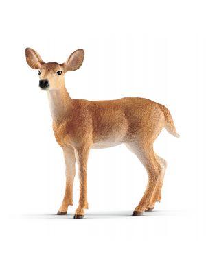 Schleich Wildlife 14819 cerf de Virginie femelle