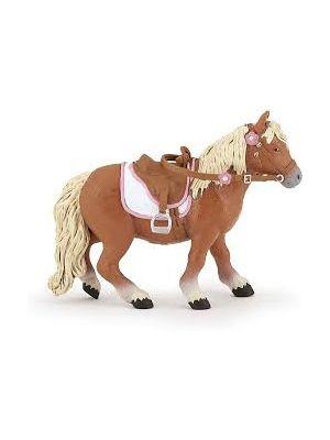Papo Horses Paard Shetlander Pony met Zadel 51559