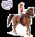 Schleich 42411 Horse Club Fille 1 et cheval à Quarter