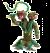Schleich Eldardor 42513 Plante monstrueuse avec arme