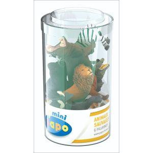 Papo Wild Life Mini Plus Set 1 (6 Stuks) 33020
