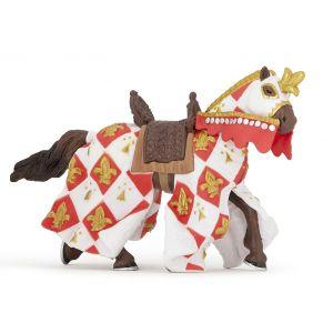 Papo History Wit Paard Fleur De Lys 39789