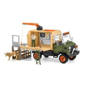 Schleich Wild Life 42475 Sauvetage des animaux gros camion
