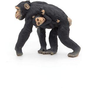 Papo Wild Life Chimpansee met Jong 50194