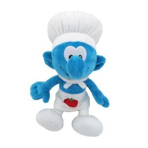 Pluche Kok Smurf 20 cm