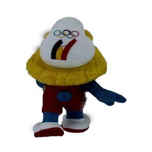 Schleich 40268 Belgische Olympische team Estafette Smurfin Limited edition