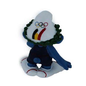 Schleich 40269 Belgische Olympische team Winner Smurf Limited edition