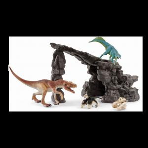 Schleich 41461 Kit de dinosaurs avec grotte