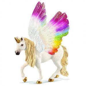 Schleich 70576 Bayala Unicorn à l'arc-en-ciel ailé