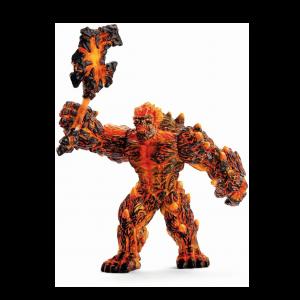 Schleich Eldrador 42447 Golem de Lava avec arme