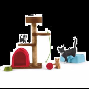 Schleich Farm World 42501 Amusant pour les chats mignons