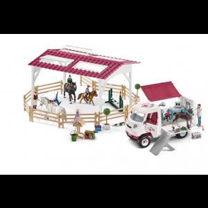 Schleich Horse Club 72121 Vétérinaire mobile aux école d'équitation