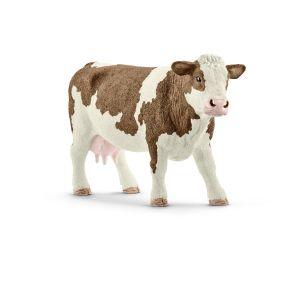 Schleich 13801 Vache Simmental française