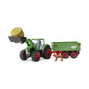 Schleich 42379 Tracteur avec remorque