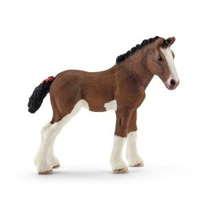 Schleich 13810 Cheval Poulain Clydesdale