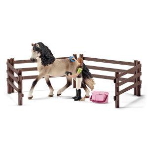 Schleich 42270 Kit de soin pour chevaux andalous
