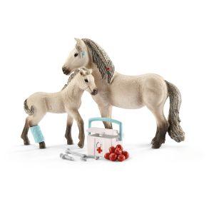 Schleich 42430 trousse de premiers soins et cheval islandais