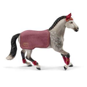 Schleich Paard 42456 Trakehner Mare Tournament Cavalier
