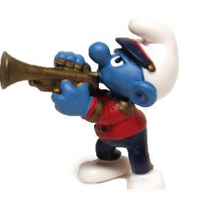 Schleich 20479 Trumpeter Schtroumpf